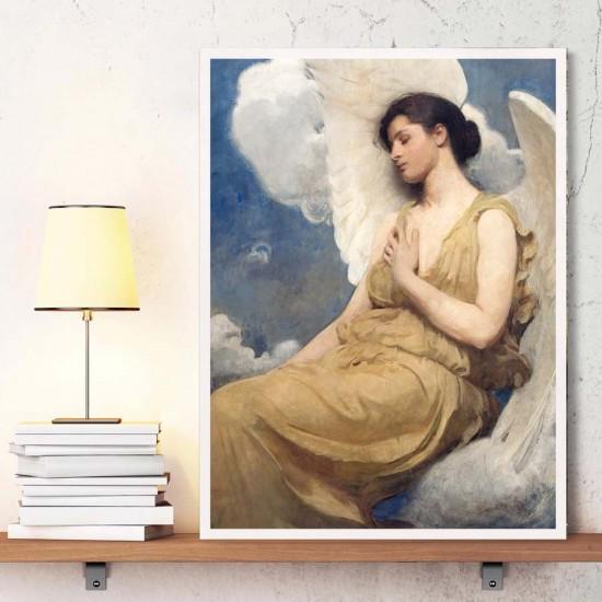 Абат Хендерсън Тайер, Жена с крила - Репродукция, Арт пано репродукция