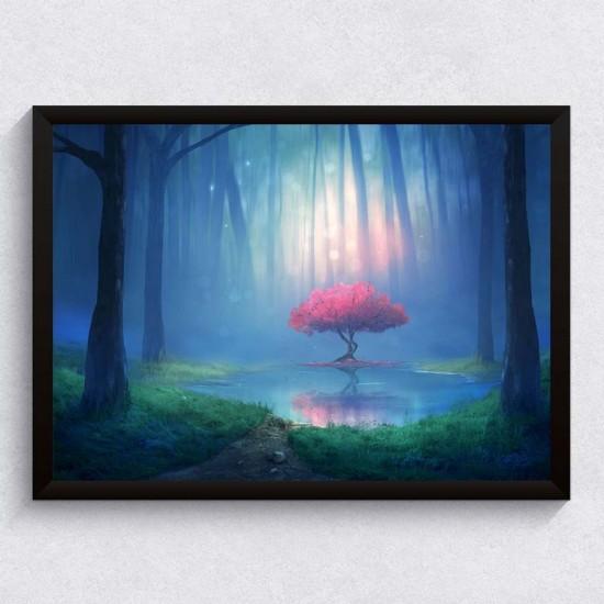 Магическо дърво - Фото арт, Фото пано - картина за баня, спалня