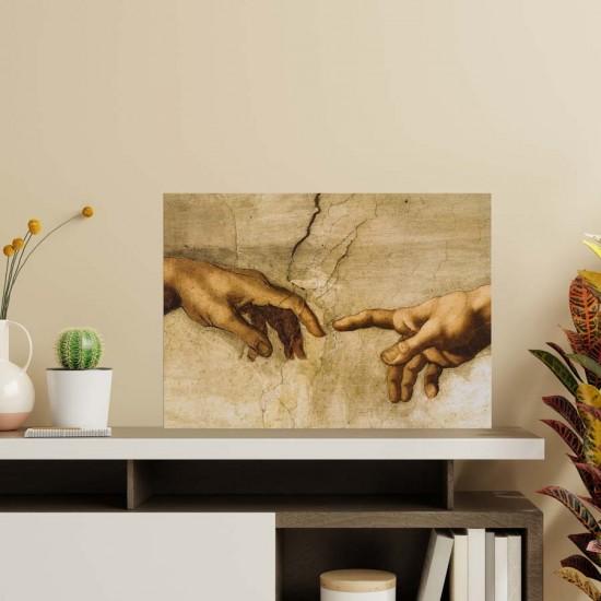 Микеланджело, Сътворението - Репродукция, фрагмент, образец, Арт пано репродукция