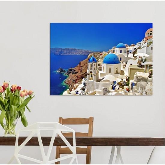 Санторини - Фото пано