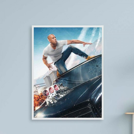 Бързи и яростни Екшън - Филмов плакат 1, Поредица постери с филми