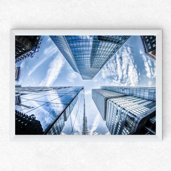 Небостъргачи 2 - Поредица постери с небе, сгради