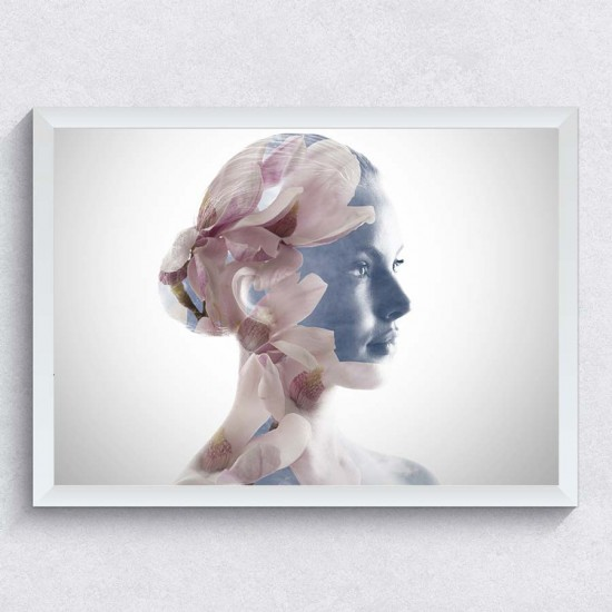 Foto Свежа нота - Фото арт с глава на жена