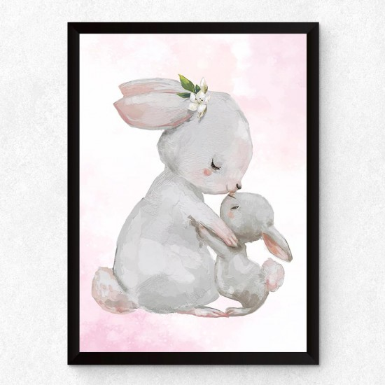 Опашати истории - Мама и зайче, детска картина