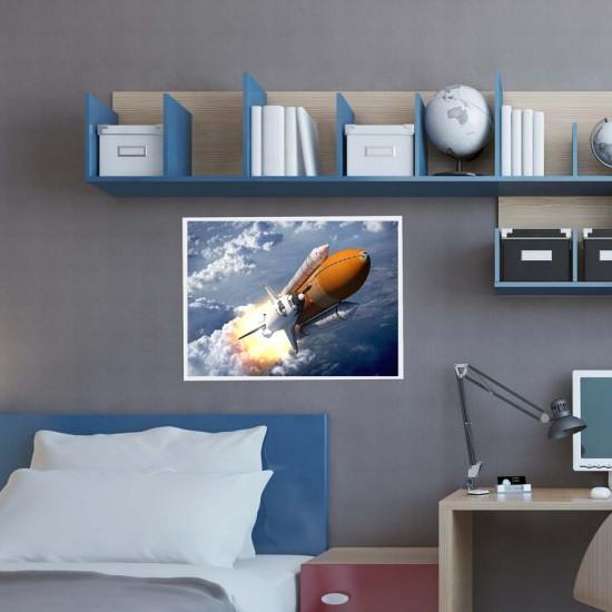 Ракетен старт - Фото пано плакат, Поредица постери с ракети