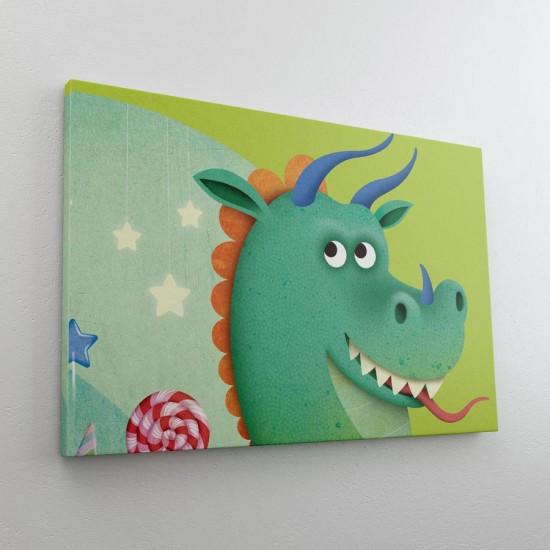Динът Бобо - детска картина за момче