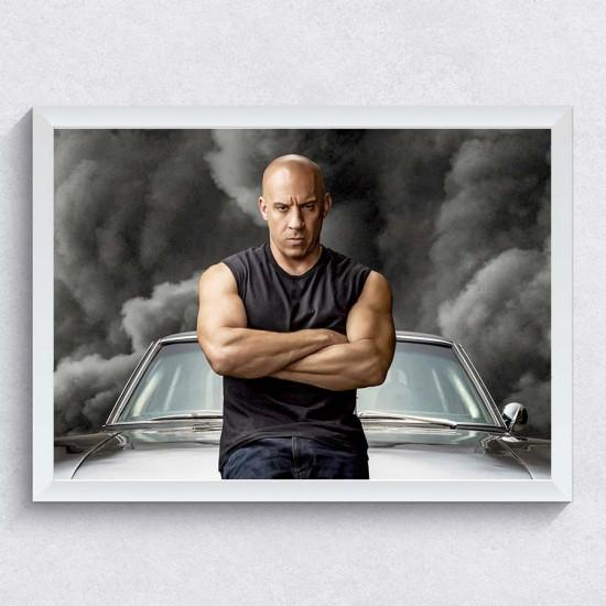 Бързи и яростни - Постер 1 - Постер с Вин Дизел