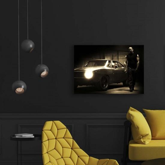 Бързи и яростни - Постер 2 - Постер с Вин Дизел