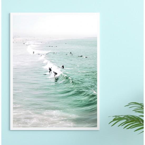 Сърфинг 1 - Фото пано, 3 части