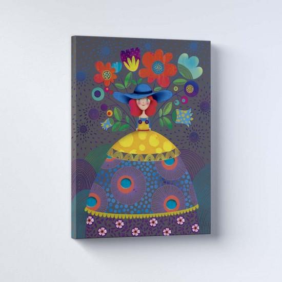 Цветен свят - Поредица рамки в рамка или канава