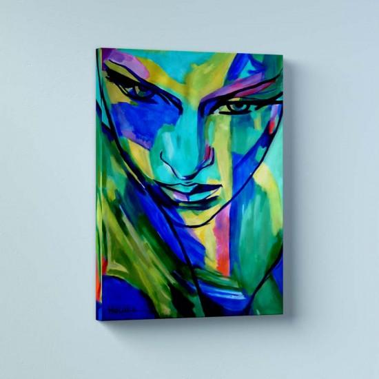 Безброй емоции - Арт пано в рамка или канава