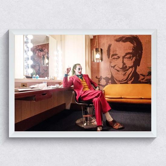 Жокера - Филмов кадър 2 - Постер в рамка или канава с Хоакин Финикс