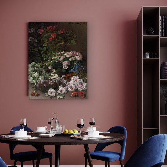 Цветя, Клод Моне - Репродукция