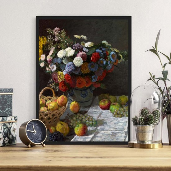 Плодове 2, Клод Моне - Постер с рамка
