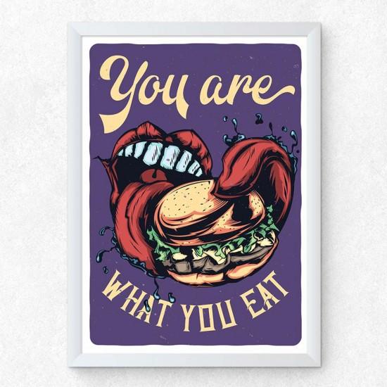 Бургерия 1 - Постер в рамка или канава