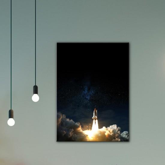 Космонавтика 2 - Фото картина - Постер с рамка