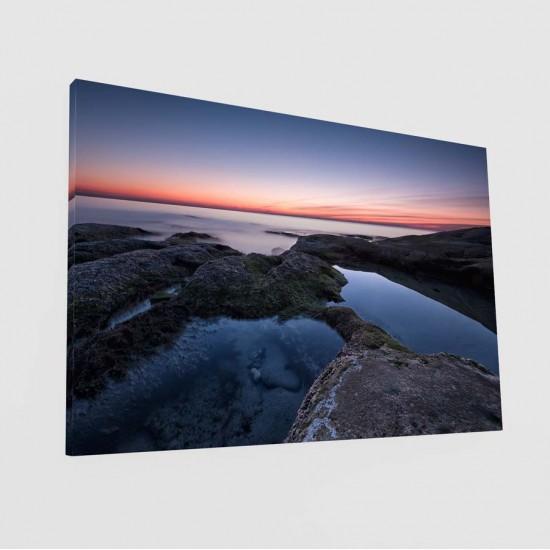 Изгрев над Равда - Фото картина
