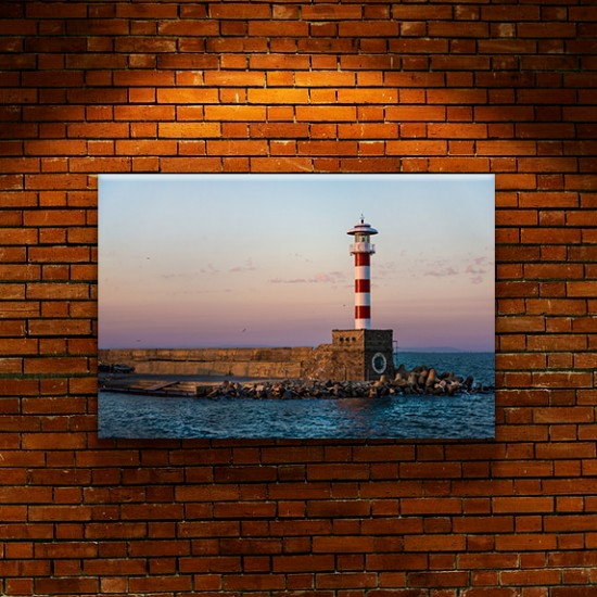 Морски фар Бургас - фото картина