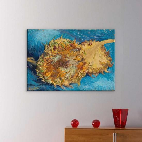 Натюрморт на син фон, Ван Гог - Репродукция