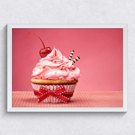 Мъфин с черешка - Фото арт Черешката на тортата