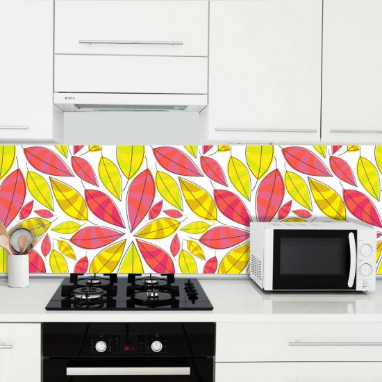 Color fun - Гръб за кухня, стикер
