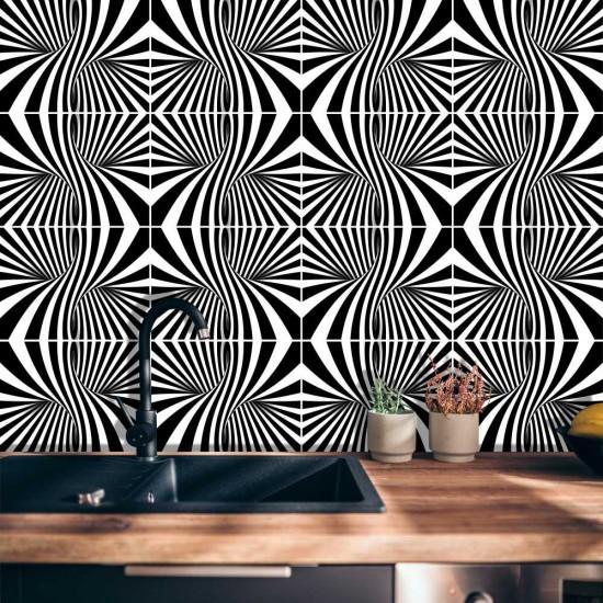 Illusion - Стикер за гръб на кухня