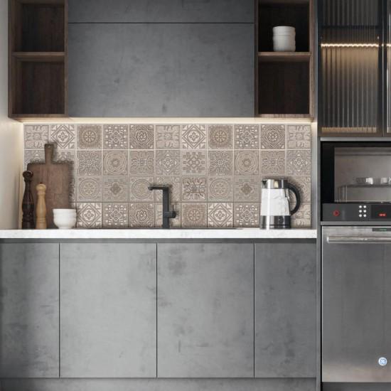 Costa Brava - Стикер за гръб на кухня