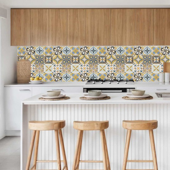 Монтевидео сън - Стикер за гръб на кухня