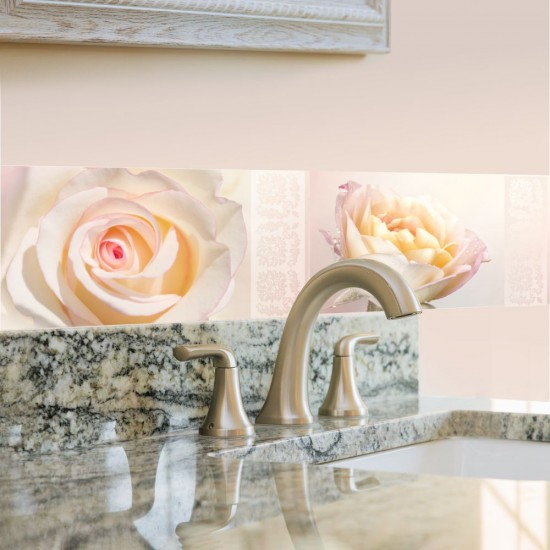Стикери за плочки и стени Рози Ухание