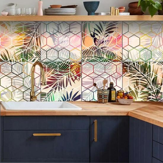 стикери за плочките в баня и кухня