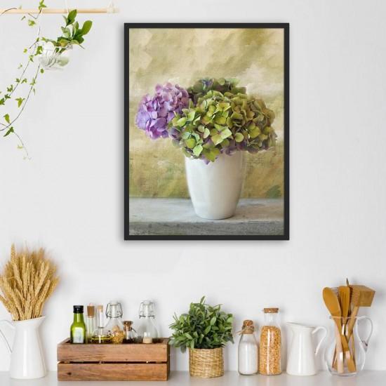 Картина с хортензии - Фото картина, фото арт