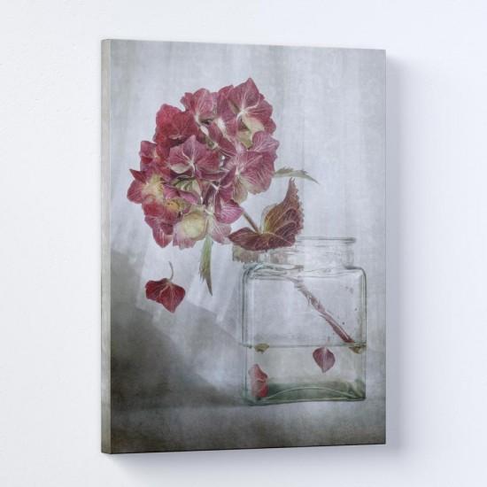 Стакан Финес - Картина с хортензии - Фото картина, фото арт