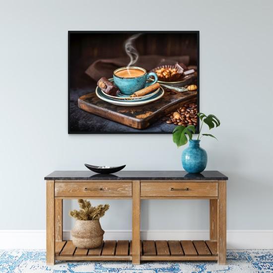 Кафе аромати - фото картина