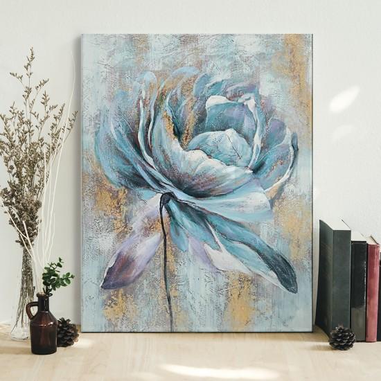 Синьото цвете - картина