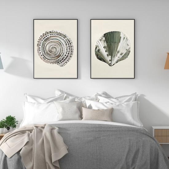 Комплект от 2 пана за стена - Морско вдъхновение