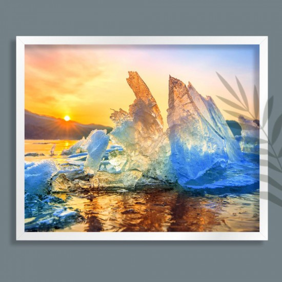 Огън и лед - фото картина