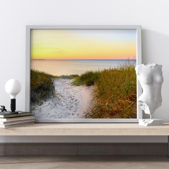 Фото картина Стъпки в дюните