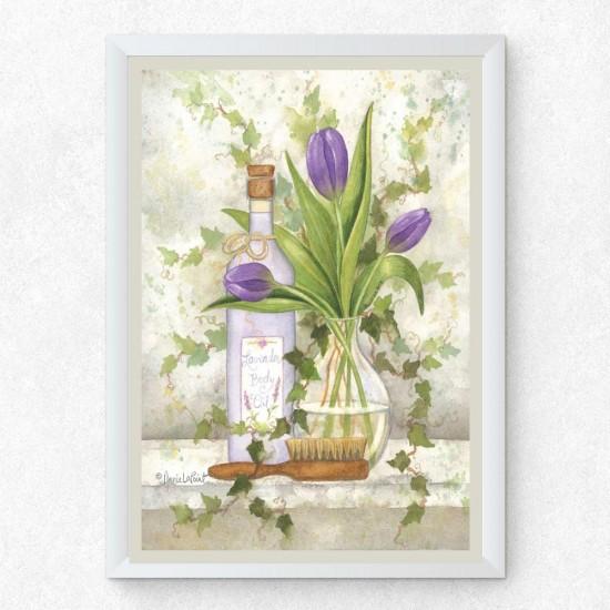 Картина Ароматна баня - Постер