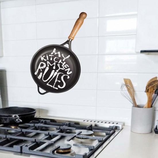 Стикер за кухня - Моята кухня, моите правила