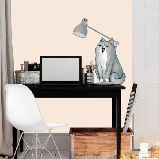 стикер за стена с коте