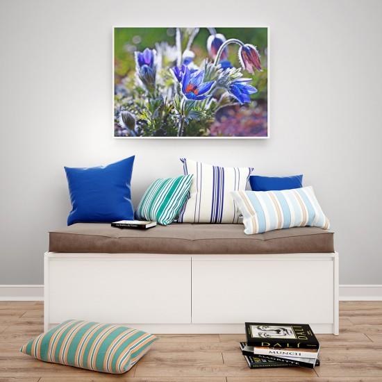 картина с цветя анемони