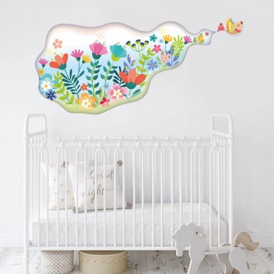 Пролет - стикер за детска стая
