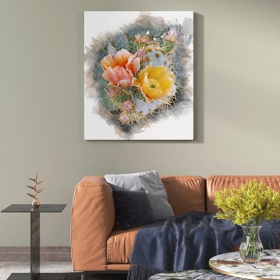 Картина Кактус цветове - Арт пано