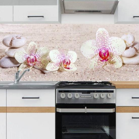 Цветен релакс - Стикер за гръб на кухня