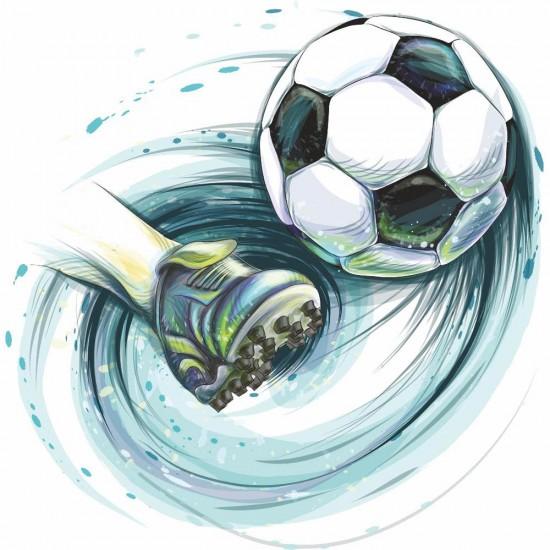 стикер за стена футбол