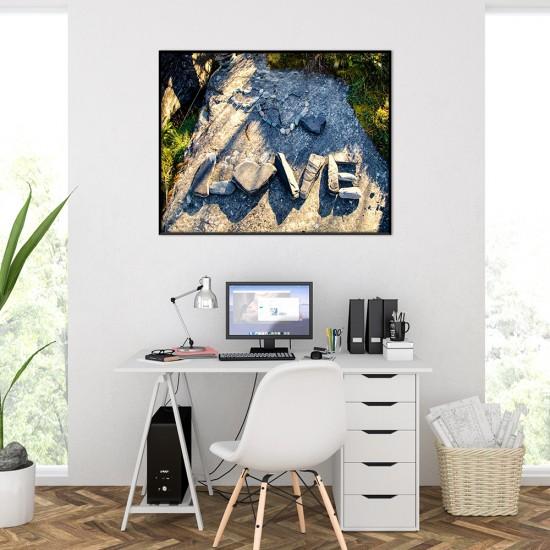 картина Love, природа и послание