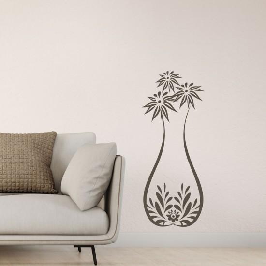 Жива ваза декорация за стена