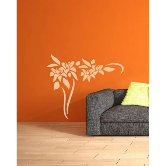 стикер флорален елемент