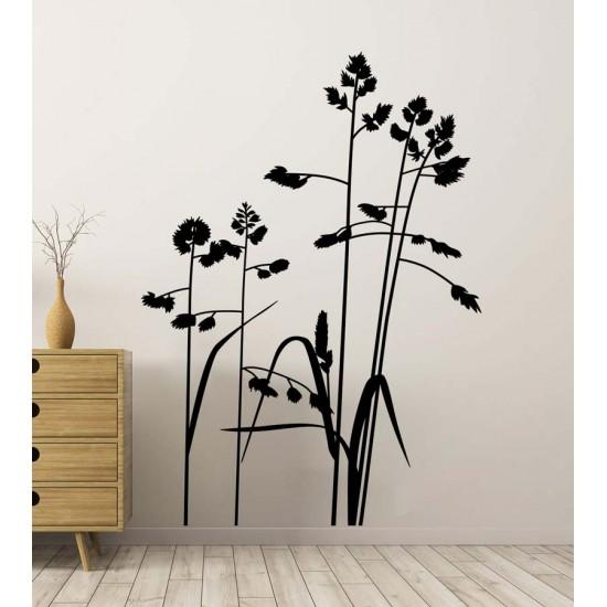 Красива трева - стикер за стена