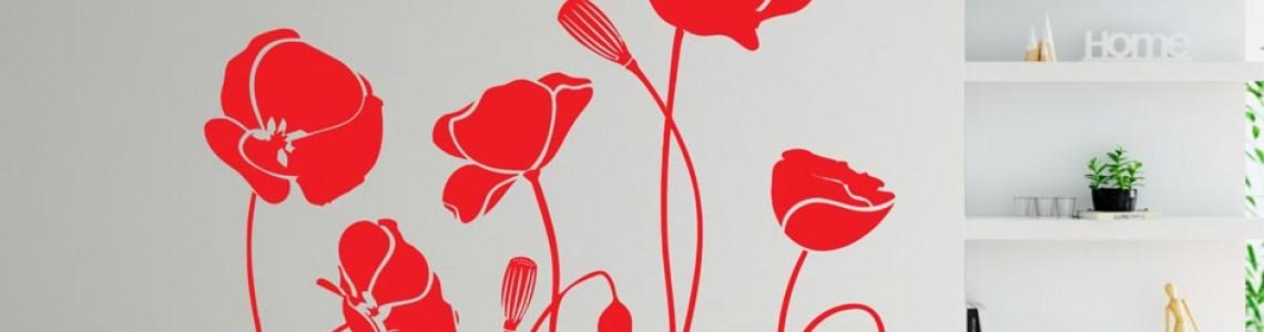 Стикери с Цветя